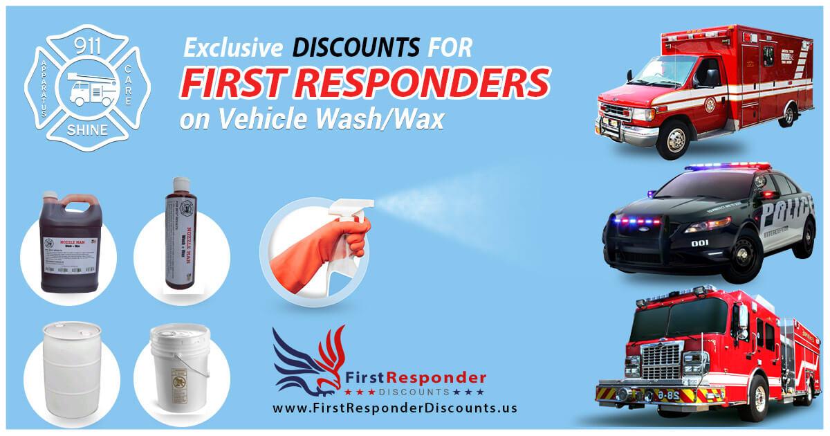 Nozzel Man 911 Shine - First Responder Discount