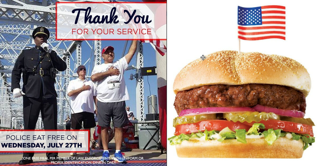 Shoneys First Responder Military Discount