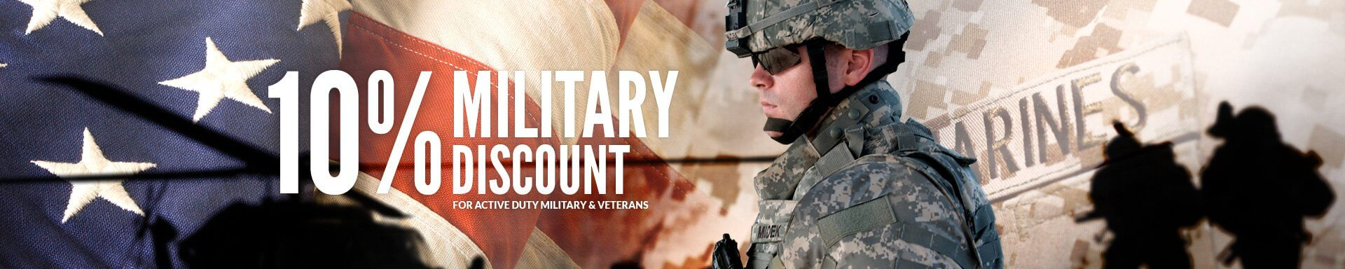 Carid Military Discounts - First Responder Discounts